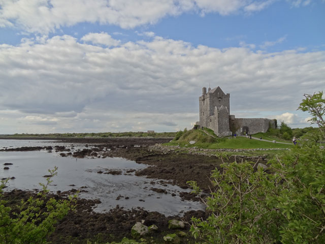 Castle on Ireland Coast