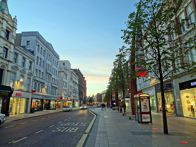 Cental Belfast Street