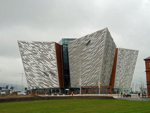 Titanic Museum Belfast Ireland