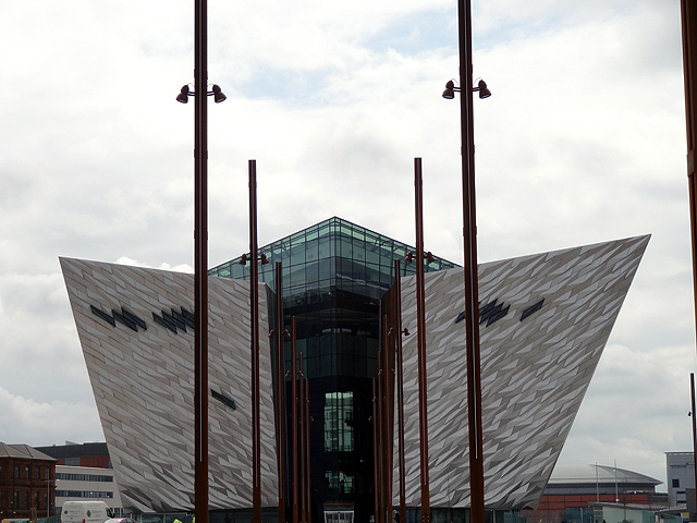 Titanic Mueseum from the Back