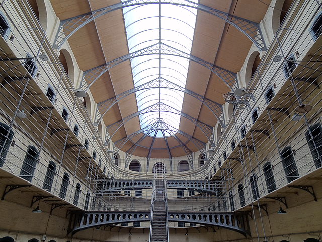 Kilmainham Gaol Jail in Dublin Ireland
