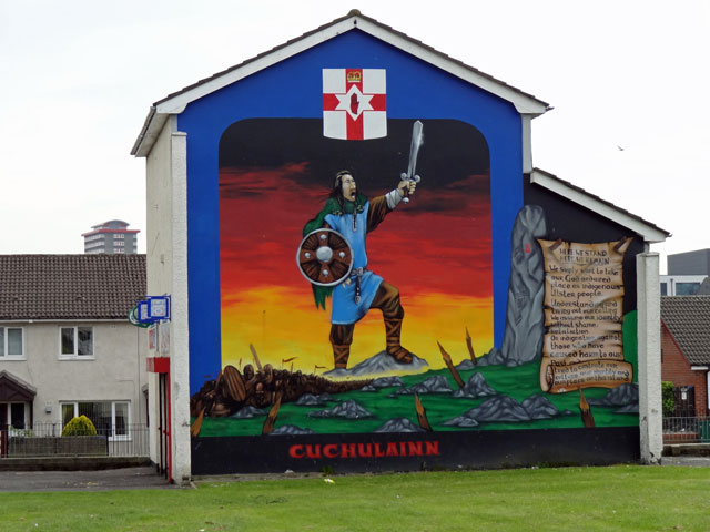 Belfast Fall Road Mural