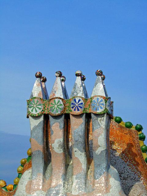 Casa Batlló Chimneys
