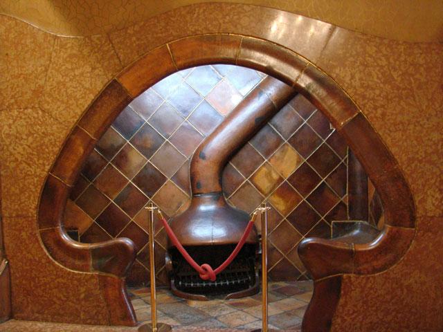 Casa Batlló Fireplace