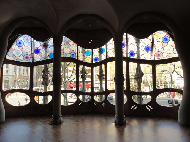Casa Batlló Inside Windows