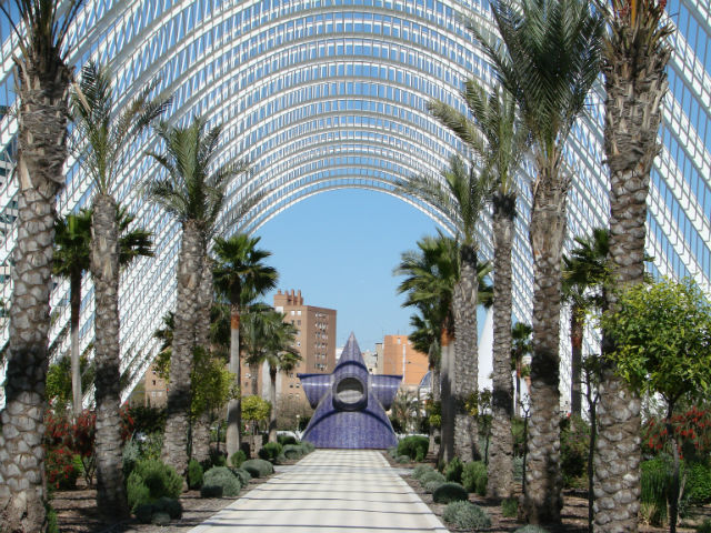 City of Arts and Sciences Parking Garage