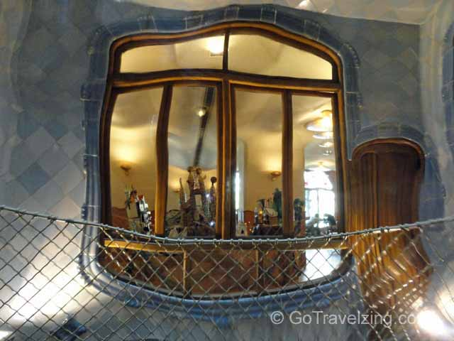 Casa Batlló Inside Window
