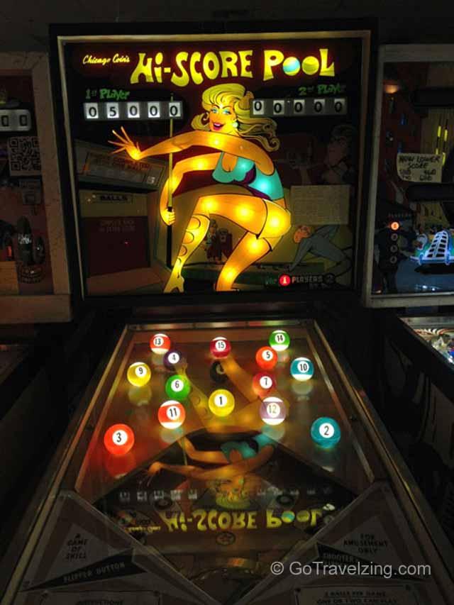 Hi Score Pool Pinball