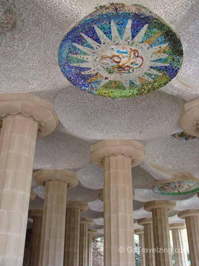 Park Guell Columns