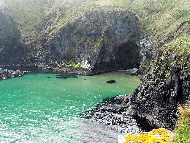 Carrick a Rede Rope Bridge Coastline
