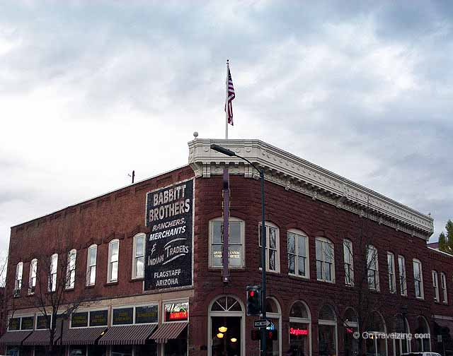 Babbitt Brothers Merchants Building in Flagstaff Arizona