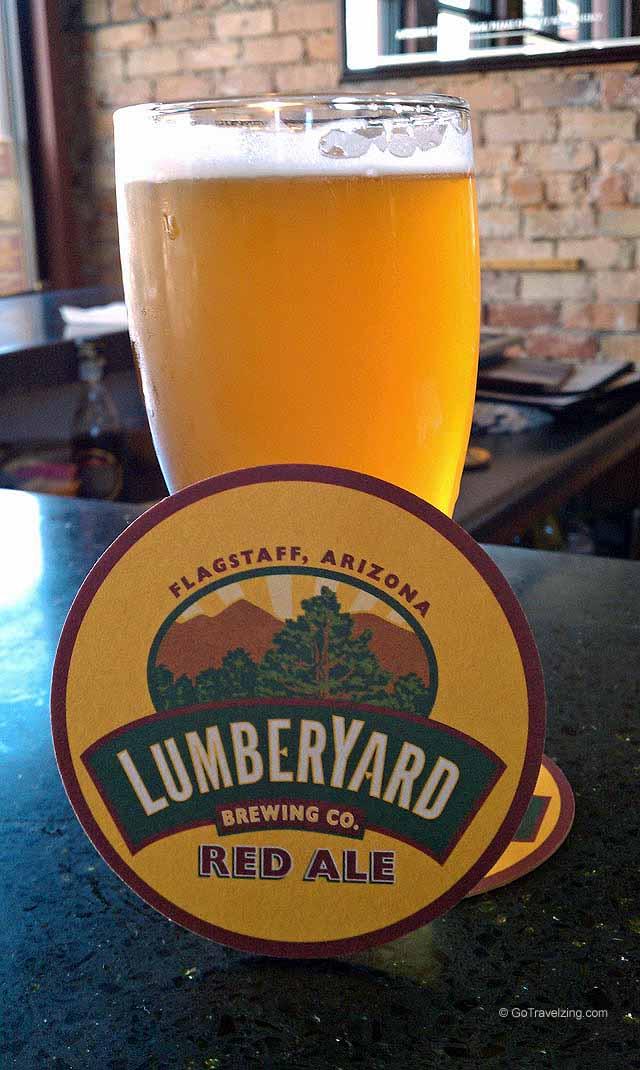 Beer @ Lumberyard Brewing Company in Flagstaff Arizona