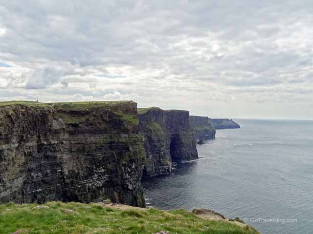 Cliffs of Moher with Clouds