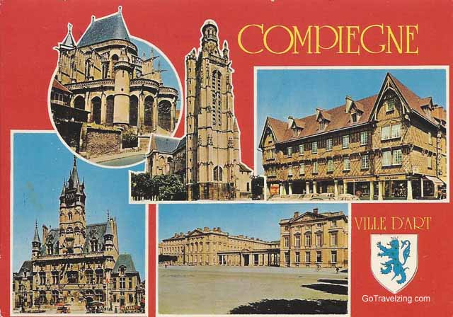 Compiegne France Postcard