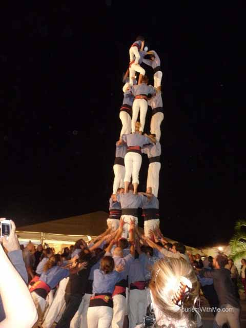 Castellers  Human Tower