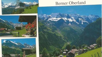 Gimmelwald Switzerland Postcard