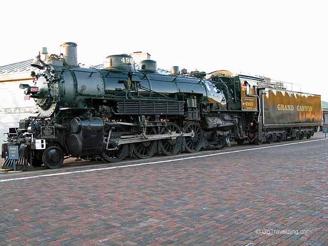 Grand Canyon Railways Engine
