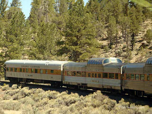 Grand Canyon Train Cars