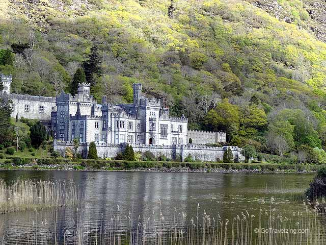 Kylemore Abbey view from the lake
