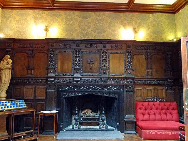 Kylemore Abbey Fireplace