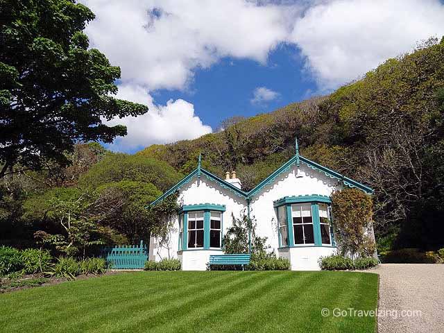 Kylemore Abbey Victorian Walled Gardens In Ireland