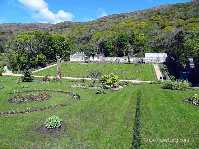 Walled Gardens of the Kylemore Abbey