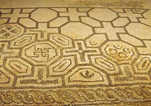 Roman Mosaic at the Museu d'Historia de la Ciutat