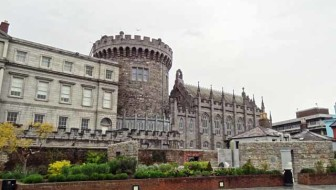Dublin Castle Next to the Chester Beatty Library