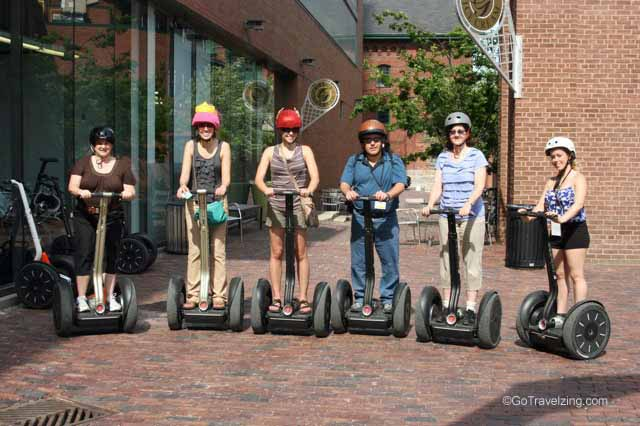 Group Photo of the Segway Tour