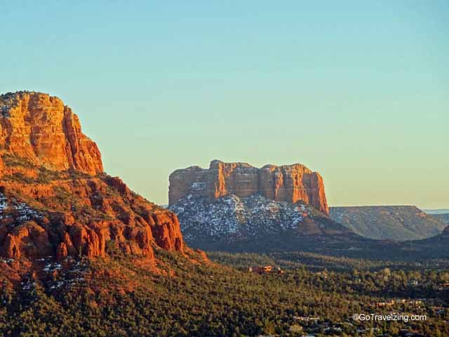 The Red Rocks of Sedona are amazing at sunrise