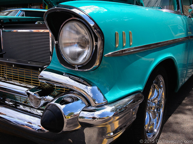Classic Chevy at Route 66 Car Show