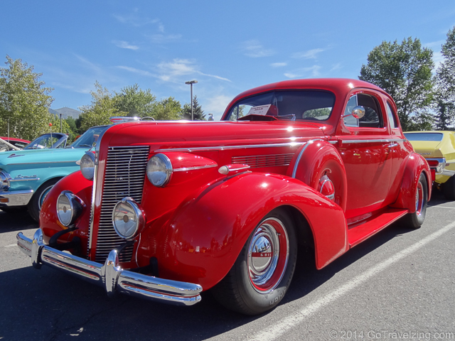 Red Classic Buick Coupe