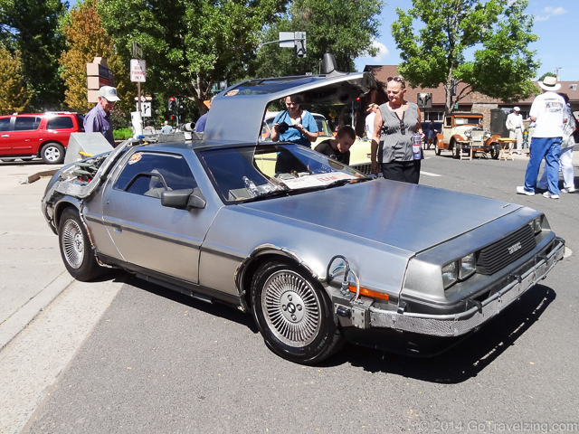 Replica Back to the Future Delorean