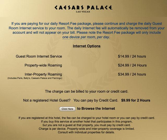 Internet Cost