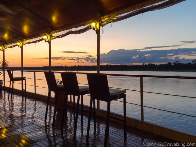 La Estrella Amazonica Bar Deck Sunset