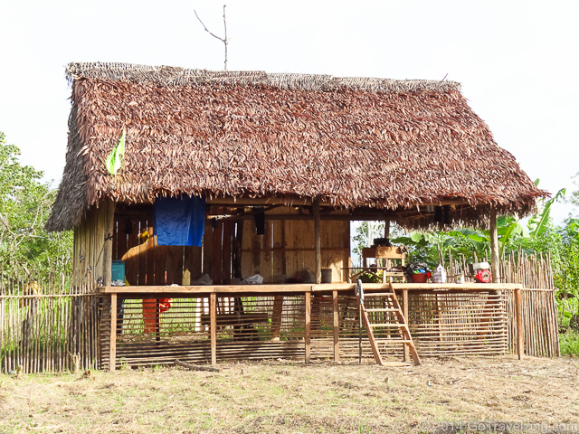 House in an Amazon Village
