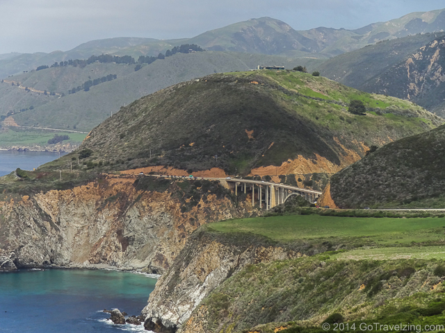 Bixby Bridge on the Pacific Coast Highway