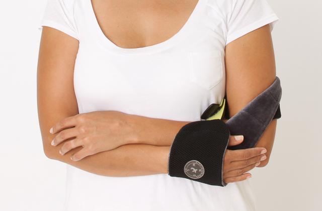 Portable personal armrest - NapWrap