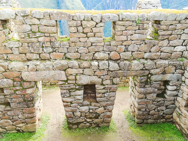 Doorways and windows of Machu Picchu