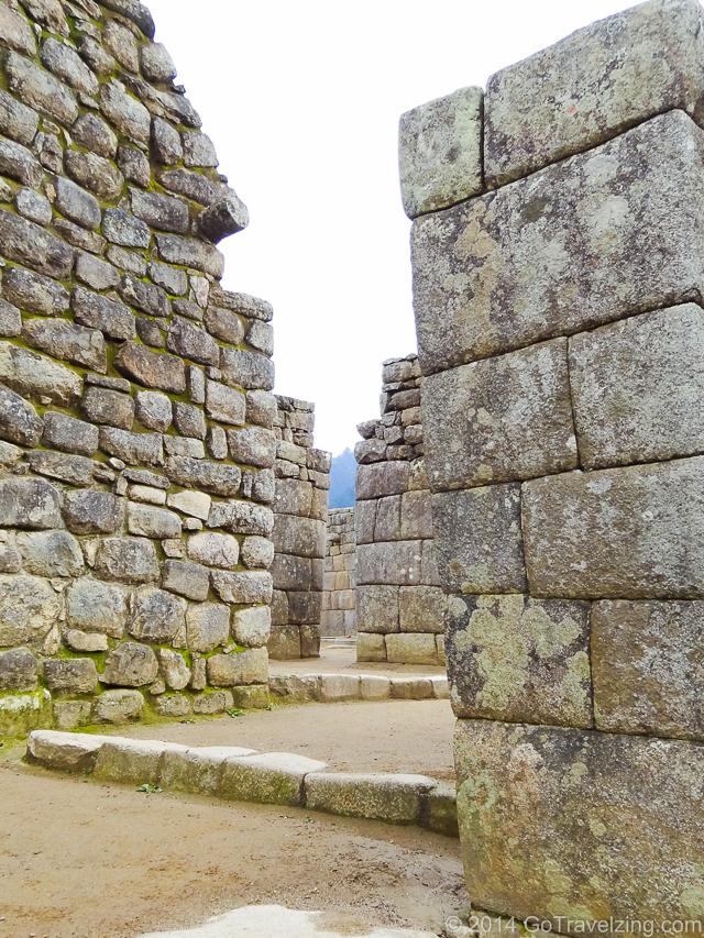 Machu Picchu Stone Walls