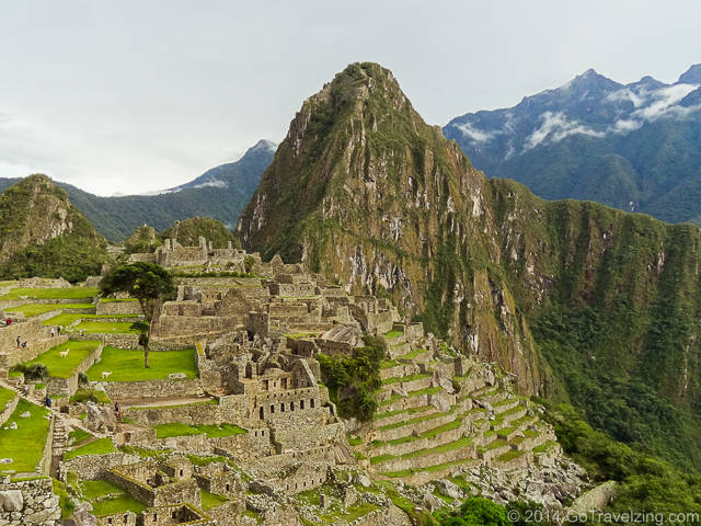 Panoramic View of Machu Picchu