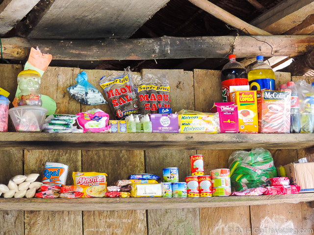 Small store in an Amazon Village