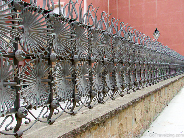 Park Guell Ornamental iron fence