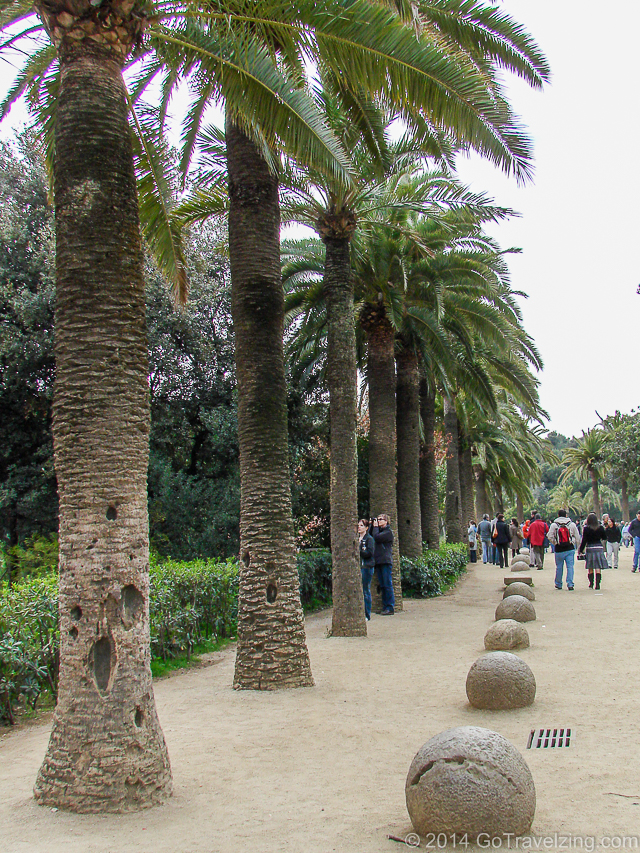 Park Guell Path