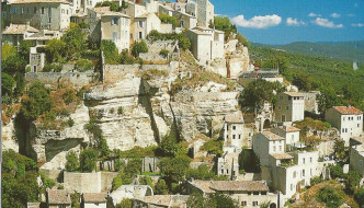 A Postcard from Gordes France