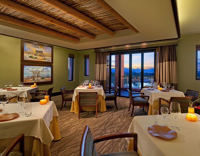 The Kai Dining Room at the Sheraton Wild Horse Pass