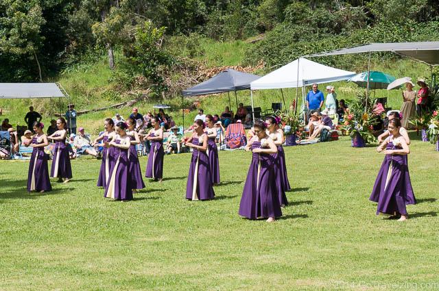 Emalani Festival Hula Dancers Kauai