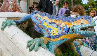 Gaudi's Fantastic Park Guell – Barcelona Spain